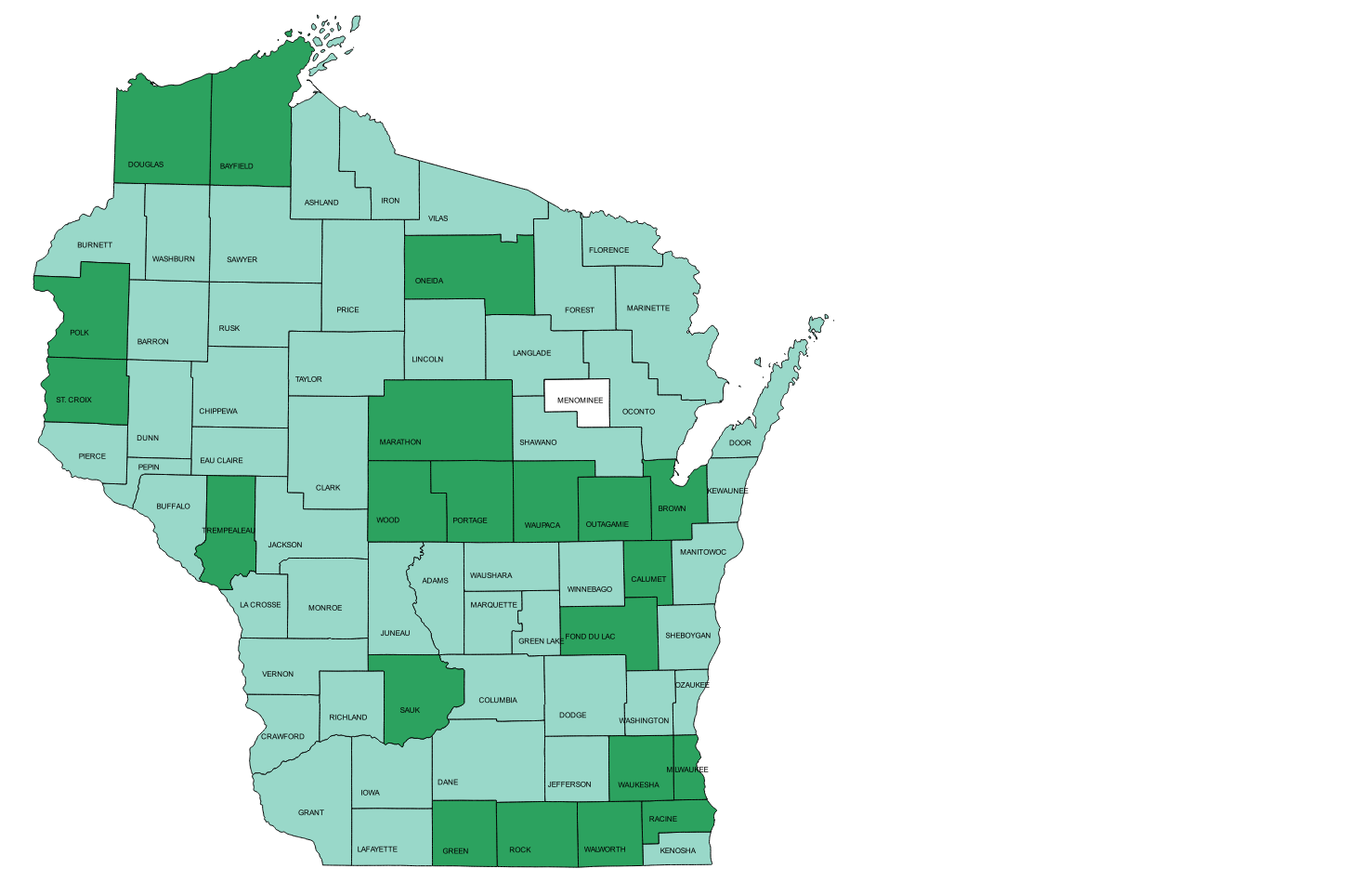 Wisconsin Local Government Web Mapping Sites